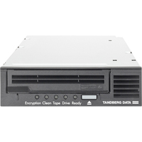 Tandberg Data LTO-6 Tape Drive - 2.50 TB (Native)/6.25 TB (Compressed) - Black - 3 Year Warranty - SAS - 1/2H Height - External - 160 MB/s Native - 400 MB/s Compress
