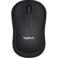 Logitech SILENT B220 Mouse - Optical - Wireless - Black
