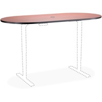 Image USA Deal Safco SAF2500EHATCY 73555250053 Business/Services psueae Safco Electric Table Cherry Lam. Racetrck Tabletop