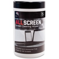 Advantus ReadRight AllScreen Screen Cleaning Wipes REARR15045