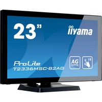 "iiyama ProLite T2336MSC-B2AG 23"" LED Touchscreen Monitor - 16:9 - 5 ms"