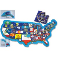 A Broader View 500 piece USA Puzzle ABW156
