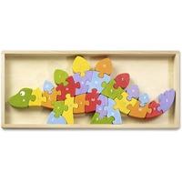 BeginAgain Toys Dinosaur A to Z Puzzle i1204