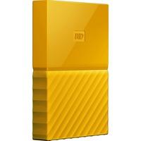 WD My Passport WDBYFT0020BYL-WESN 2 TB External Hard Drive - Portable - USB 3.0 - Yellow