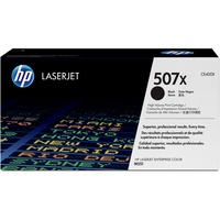 HP 507X Toner Cartridge - Black - Laser - 11000 Page - 1 Each