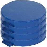 Surprising Ecr4Kids 4 Pc Round Carry Me Cushion Ecr12643Bl Beatyapartments Chair Design Images Beatyapartmentscom