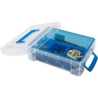 Advantus 4 compartment Plastic Supply Box AVT37376