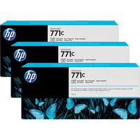 HP 771C Photo Black Ink Cartridge x3 Pack