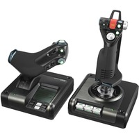 Saitek Pro Flight X52 Pro Gaming Joystick, Gaming Throttle