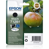 Epson DURABrite Ultra T1291 Ink Cartridge - Black - Inkjet - 385 Pages - 1 Pack