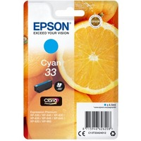 Epson Claria 33 Original Ink Cartridge - Cyan