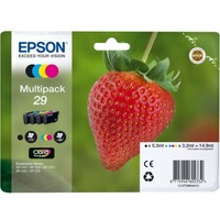 Epson Claria 29 Original Ink Cartridge - Black, Magenta, Cyan, Yellow