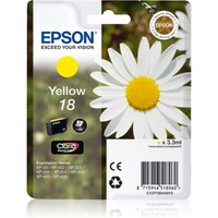 Epson Claria Ink Cartridge - Yellow - Inkjet - 180 Pages - 1 Pack
