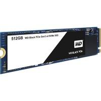 WD Black WDS512G1X0C 512 GB Internal Solid State Drive - PCI Express - M.2 2280 - 2 GB/s Maximum Read Transfer Rate - 800 MB/s Maximum Write Transfer Rate