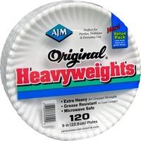 AJM Packaging Original Heavyweights Plates AJMOH9AJBXWH