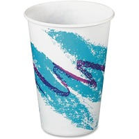 Solo Jazz Design Waxed Paper Cold Cups r10nn00055