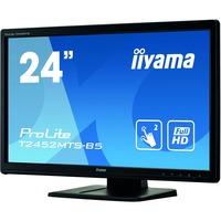 "iiyama ProLite T2452MTS-B5 61 cm (24"") LCD Touchscreen Monitor - 16:9 - 2 ms"
