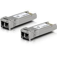 Ubiquiti U Fiber SFP+ - 1 LC Duplex 10GBase-X Network - For Optical Network, Data Networking - Optical FiberMulti-mode - 10 Gigabit Ethernet - 10GBase-X