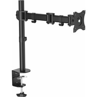 StarTech.com Desk Mount Monitor Arm - Articulating - Steel - Single Monitor Arm - For VESA Mount Monitors up to 34inch - Desk/Grommet Mount - 1 Displays Supported68.6