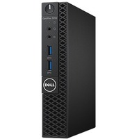 Dell OptiPlex 3050 Desktop Computer - Intel Core i5 (7th Gen) i5-7500T 2.70 GHz - 4 GB DDR4 SDRAM - 500 GB HDD - Windows 10 Pro 64-bit (Multi Language) - Micro PC -