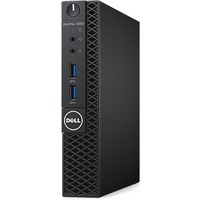 Dell OptiPlex 3050 Desktop Computer - Intel Core i5 (7th Gen) i5-7500T 2.70 GHz - 4 GB DDR4 SDRAM - 128 GB SSD - Windows 10 Pro 64-bit (Multi Language) - Micro PC -