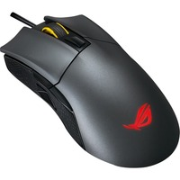 ASUS ROG Gladius II Mouse - Optical - Cable - Black