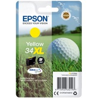 Epson DURABrite Ultra Ink 34XL Original Ink Cartridge - Yellow - Inkjet - High Yield - 950 Pages - 1 / Blister Pack
