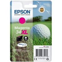 Epson DURABrite Ultra Ink 34XL Ink Cartridge - Magenta - Inkjet - High Yield - 950 Pages - 1 Pack