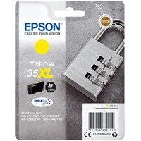 Epson DURABrite Ultra Ink 35XL Original Ink Cartridge - Yellow - Inkjet - 1900 Pages - 1 Pack