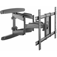 StarTech.com Full Motion TV Wall Mount - Supports TVs from 32inch to 70inch in size with a capacity of 99 lb. 45 kg - Steel Construction - Dual arms extend out to 20.4inch