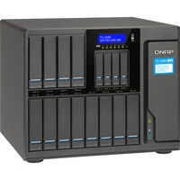 QNAP Turbo NAS TS-1685 16 x Total Bays SAN/NAS Storage System Desktop Intel Xeon D-1531 Hexa-core