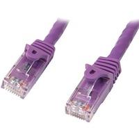 StarTech.com 10m Purple Cat5e Patch Cable with Snagless RJ45 Connectors - Long Ethernet Cable - 10 m Cat 5e UTP Cable - First End: 1 x RJ-45 Male Network - Second En