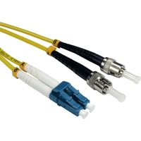 Cables Direct Fibre Optic Network Cable for Network Device - 50 cm - 2 x LC Male Network