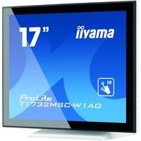 "iiyama ProLite T1732MSC-W1AG 43.2 cm (17"") LCD Touchscreen Monitor - 5:4 - 5 ms"