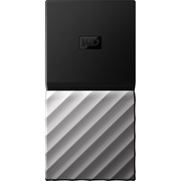 WD My Passport WDBK3E2560PSL-WESN 256 GB Solid State Drive - External - Portable - USB 3.1