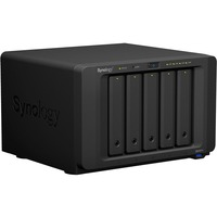 Synology DiskStation DS1517+ 5 x Total Bays SAN/NAS Storage System - Intel Atom C2538 Quad-core