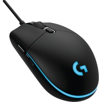 Logitech Prodigy G203 Gaming Mouse - USB - Optical - 6 Button(s) - Black - Cable - 6000 dpi - Scroll Wheel - Right-handed Only