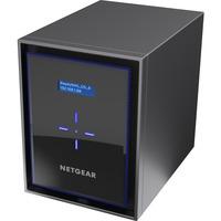 Netgear ReadyNAS RN426 6 x Total Bays SAN/NAS Storage System - Intel Atom Quad-core (4 Core) - 4 GB RAM - DDR4 SDRAM Desktop