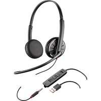 Plantronics Blackwire C325-M Headset Head-band Black