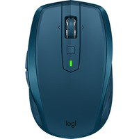 Logitech MX Anywhere 2S Mouse - Darkfield - Wireless - 7 Button(s) - Midnight Teal