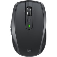 Logitech MX Anywhere 2S Mouse - Darkfield - Wireless - 7 Buttons - Graphite