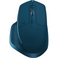 Logitech MX Master 2S Mouse - Darkfield - Wireless - 7 Button(s) - Midnight Teal