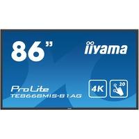 "iiyama ProLite TE8668MIS-B1AG  85.6"" LCD Touchscreen Monitor - 16:9 - 8 ms"