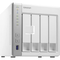 QNAP Turbo NAS TS-431P2 4 x Total Bays SAN/NAS Storage System - Tower - Annapurna Labs AL-314 Quad-core (4 Core) 1.70 GHz - 4 x HDD Supported - 4 x SSD Supported - 1
