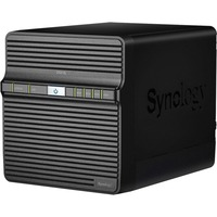 Synology DiskStation DS418J 4 x Total Bays SAN/NAS Storage System - Desktop - Realtek Dual-core (2 Core) 1.40 GHz - 4 x HDD Supported - 40 TB Supported HDD Capacity