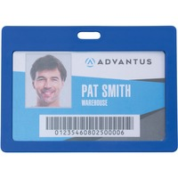 Advantus Horizontal Rigid ID Badge Holder AVT97064