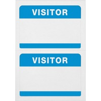 Advantus Self Adhesive Visitor Badges AVT97190