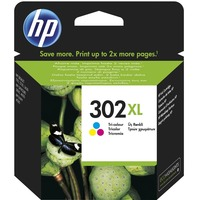 HP 302XL Original Ink Cartridge - Tri-colour