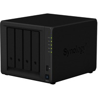 Synology DiskStation DS418 4 x Total Bays SAN/NAS Storage System - Desktop - Realtek Quad-core (4 Core) 1.40 GHz - 4 x HDD Supported - 40 TB Supported HDD Capacity -