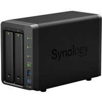 Synology DiskStation DS718+ 2 x Total Bays SAN/NAS Storage System - Desktop - Intel Celeron J3455 Quad-core (4 Core) 1.50 GHz - 2 x HDD Supported - 2 x SSD Supported